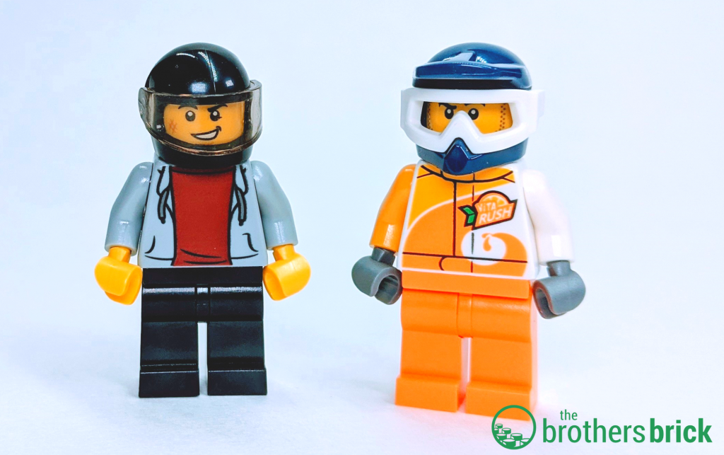 LEGO CITY 60255 - Masked minis