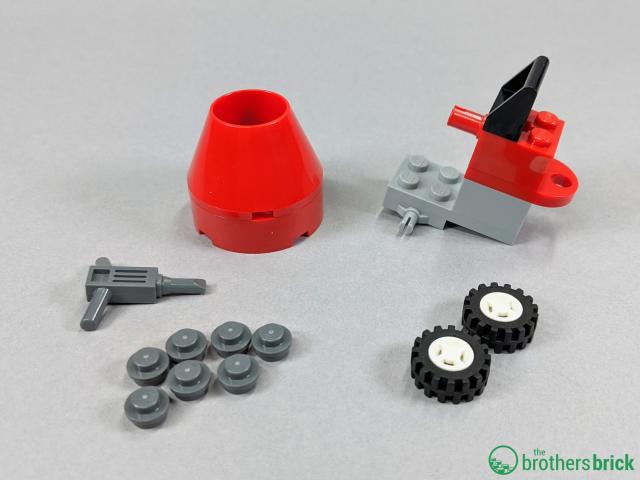 City 60252 - Mixer parts