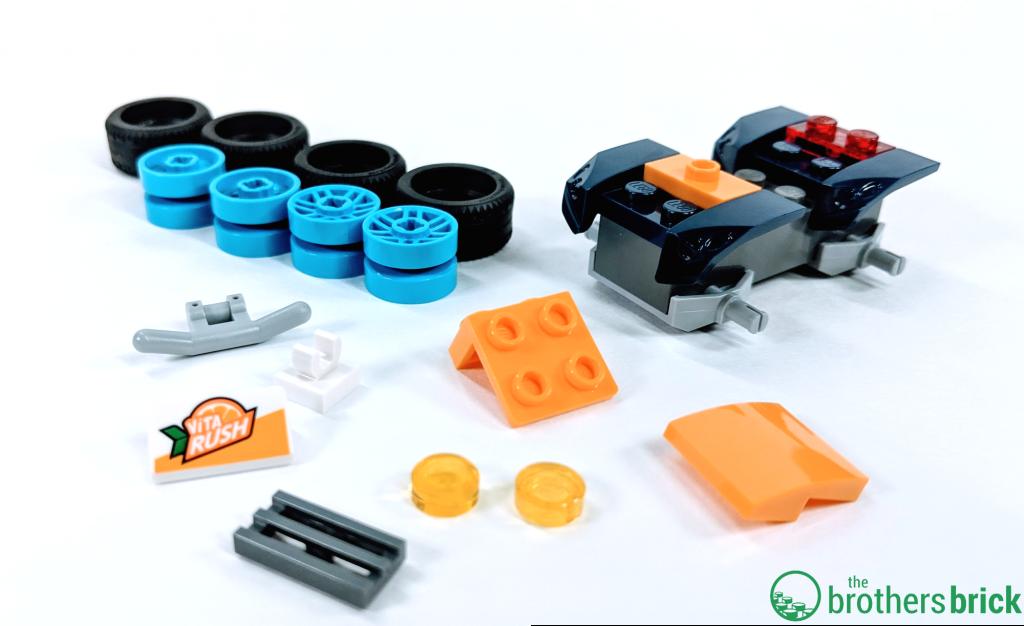 LEGO CITY 60255 - Vehicle build