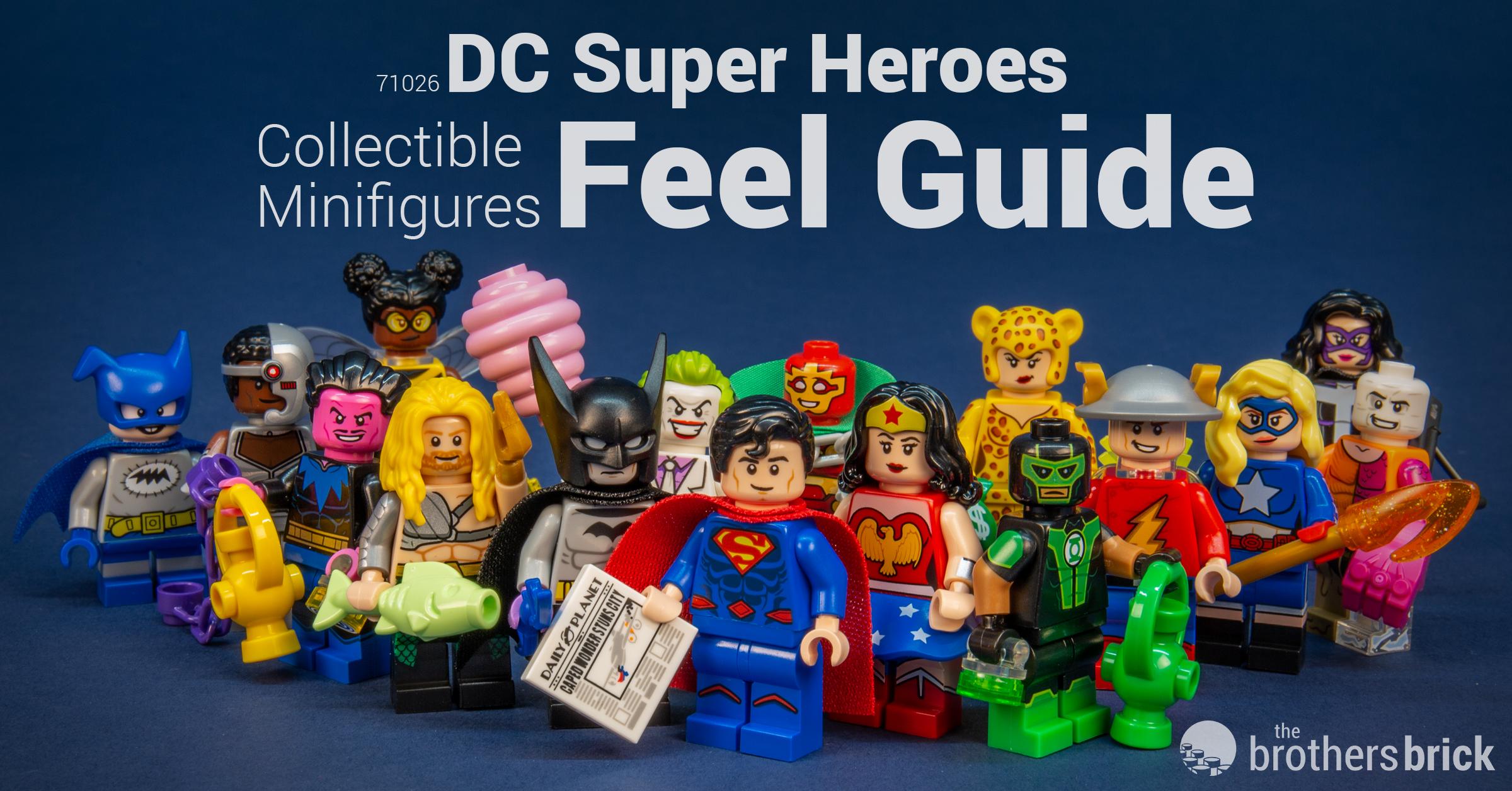 LEGO® 71026 DC SUPER HEROES Minifiguren Superman Minifigur Figur NEU
