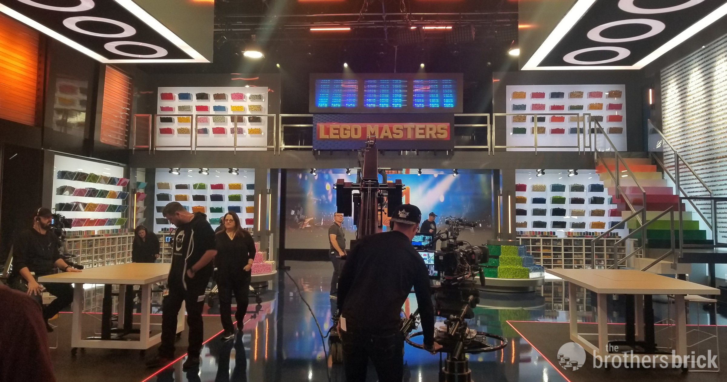 Visiting LEGO Masters: Behind the scenes tour with Challenge Master Brent Benedetti [News]