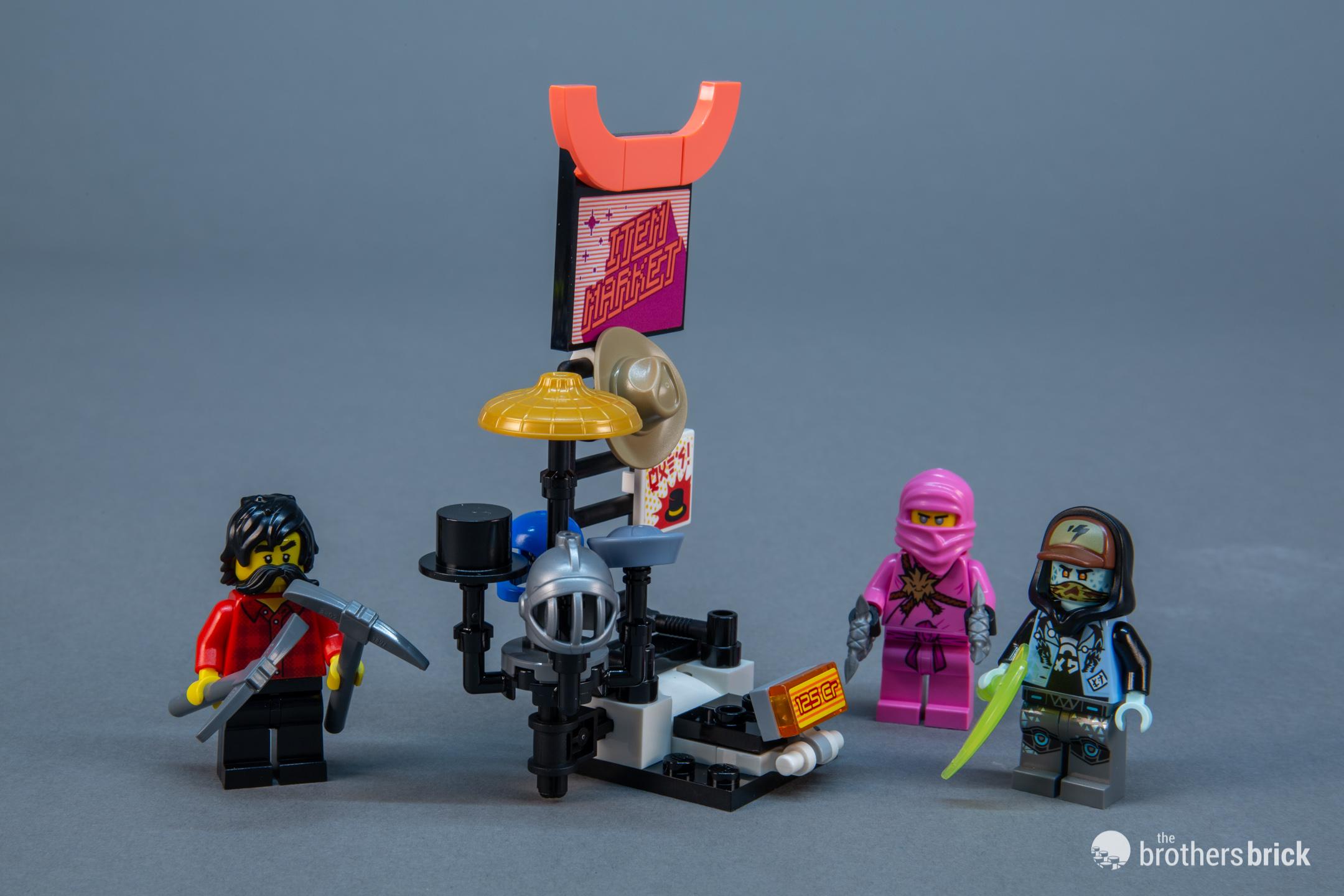 LEGO Ninjago Bonus Sticker 6 Movie