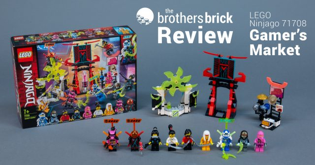 LEGO Ninjago 71708 Gamers Market Review Cover 640x335