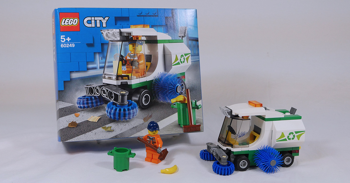 Keep your LEGO city clean with 60249 Street Sweeper [Review]