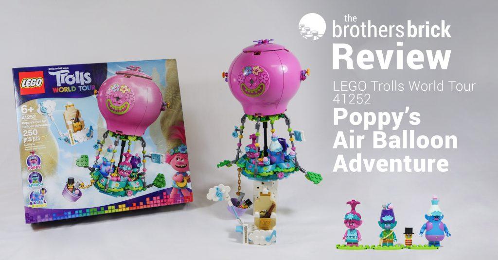 Trolls World Tour 41252 Poppy S Hot Air Balloon Adventure Review