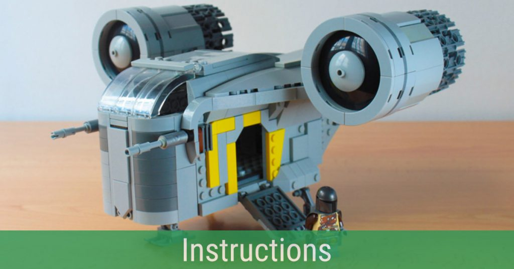 Make your own adventures with the Razor Crest from The Mandalorian [Instructions]