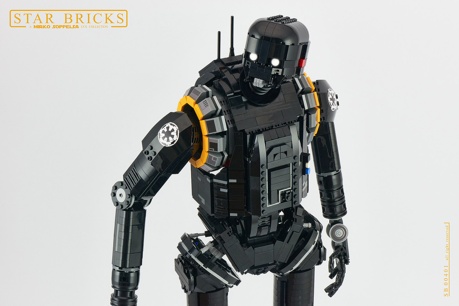 Why does she get a blaster and I don't? | The Brothers Brick