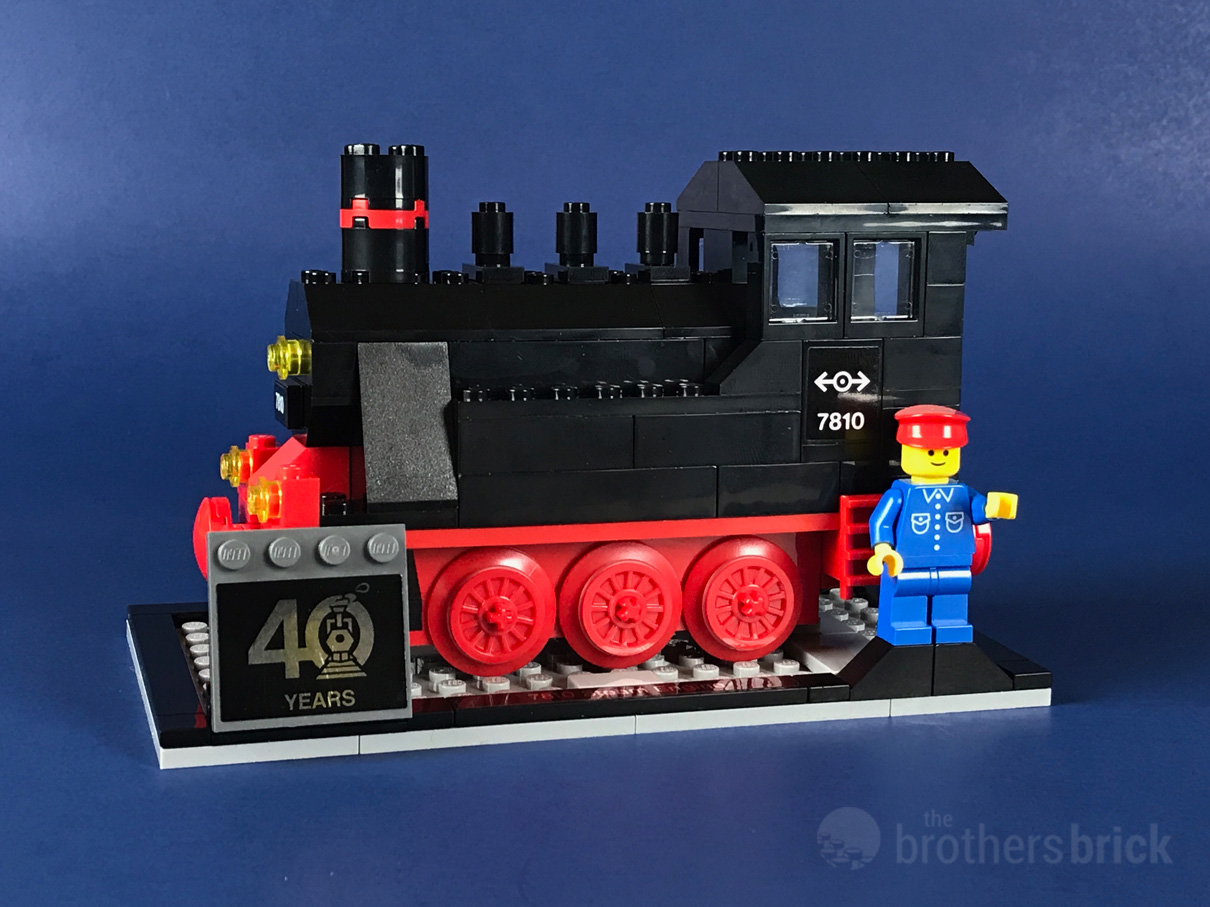 LEGO Gift With Purchase 40370 - Push-Along Steam Engine [Review]   The Brothers Brick