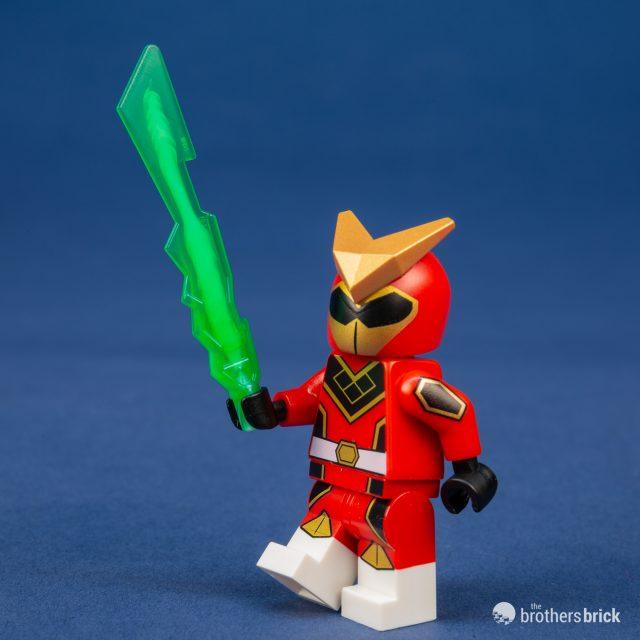 NEW LEGO MINIFIGURE ULTRA RARE RED LIGHTED BRICK