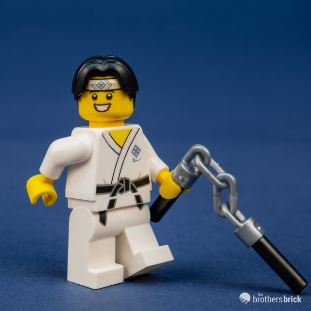 LEGO 71027 NEW but opened! Martial Arts Boy Lego Minifigures Series 20