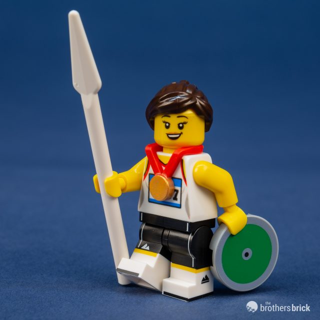 Lego Minifigures Series 20 Athlete #11//16*  71027 Limited Edition.