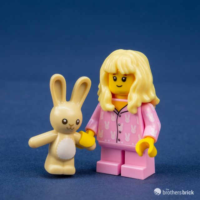 NEW Pajama Girl W// Tan Bunny Rabbit CMF Series 20 LEGO Minifigure Mini Figure