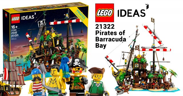 Lego Ideas Launches 21322 Pirates Of Barracuda Bay Marking The Return Of Classic Pirates News The Brothers Brick The Brothers Brick