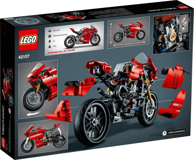 LEGO 42107 Ducati Panigale V4 R motorcycle revealed as ...