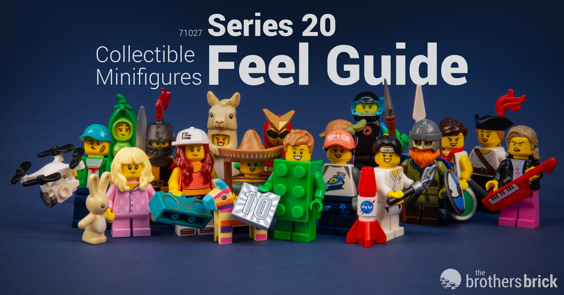 BRAND NEW LEGO MINIFIGURES SERIES 20 Viking 71027