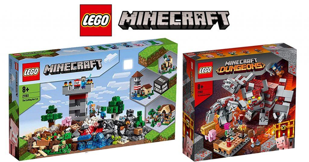 Lego Minecraft 21163 Minifigur Minifig Minecraft Hex Neuware New