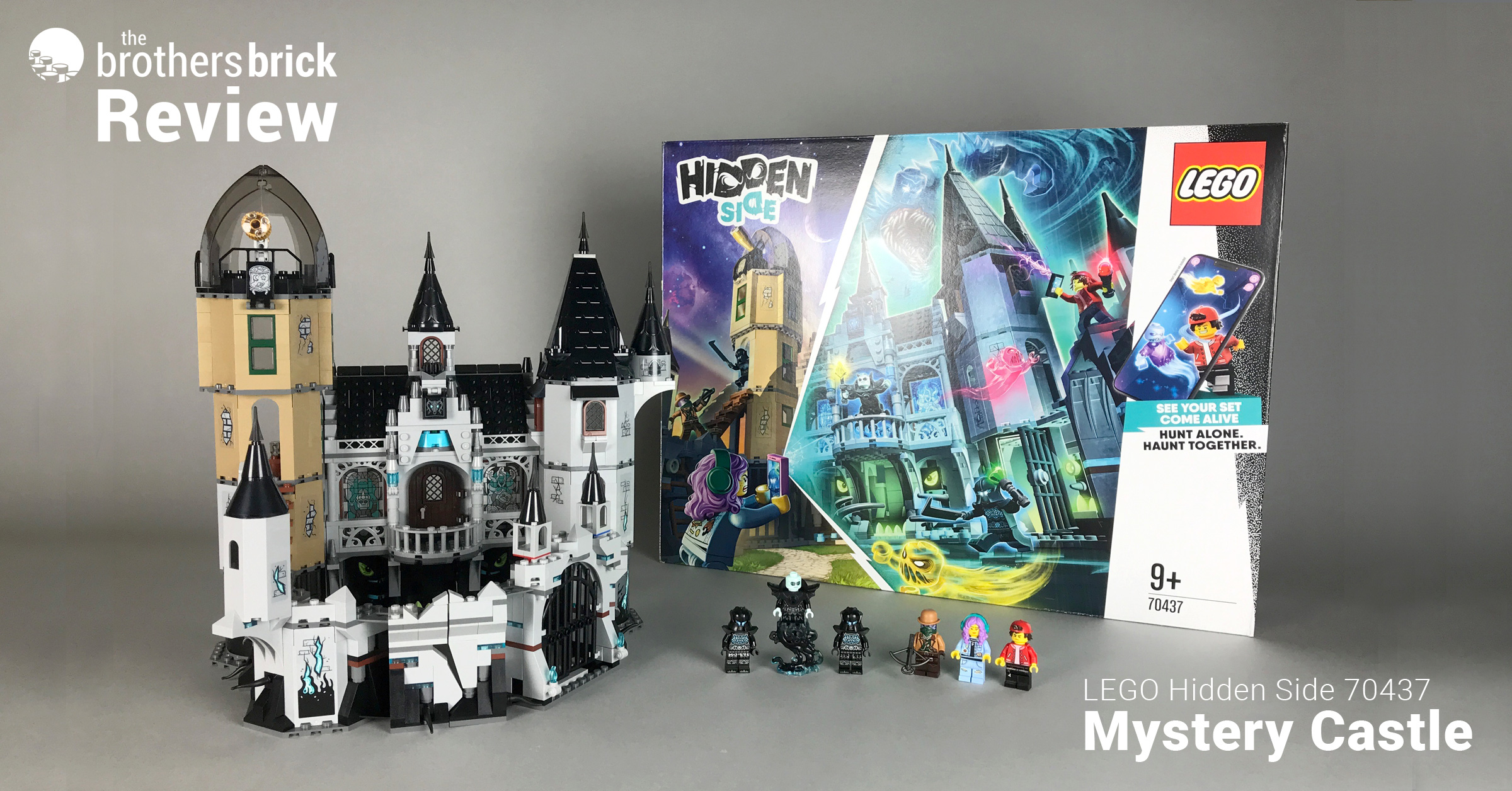 Lego Hidden Side 70437 Mystery Castle Review The Brothers Brick The Brothers Brick