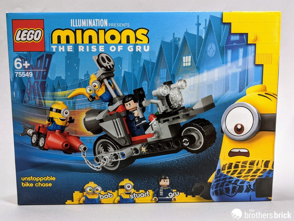 Lego 75549 Minions Unstoppable Bike Chase Review The Brothers Brick The Brothers Brick