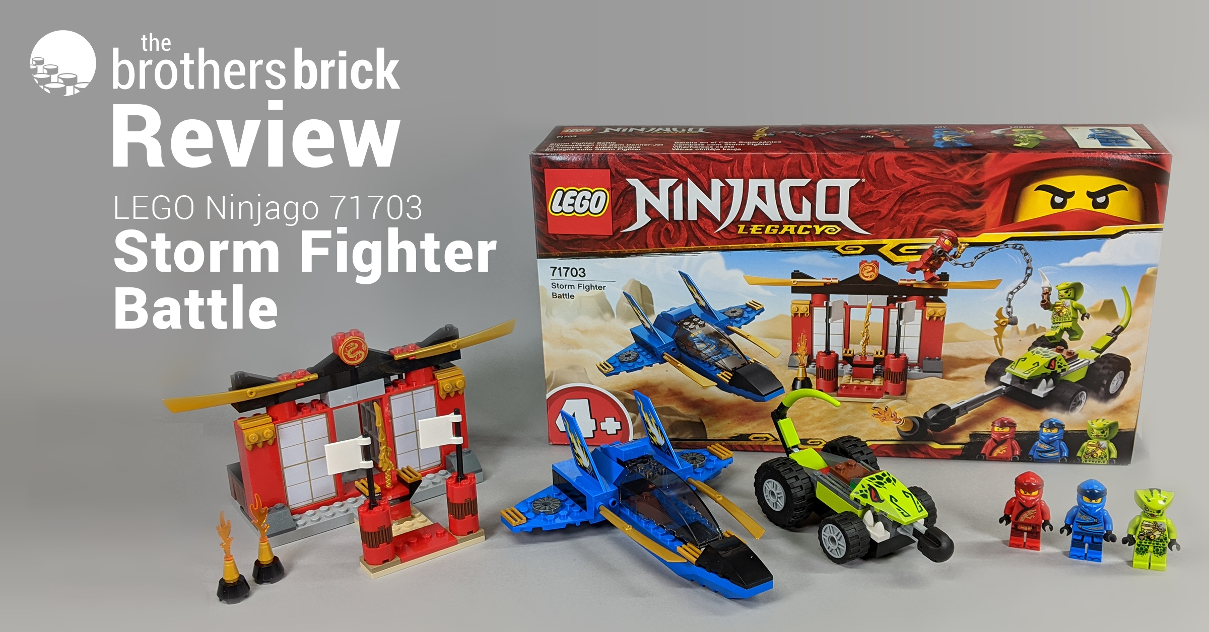 LEGO 71703 Ninjago Legacy: Storm Fighter Battle [Review ...