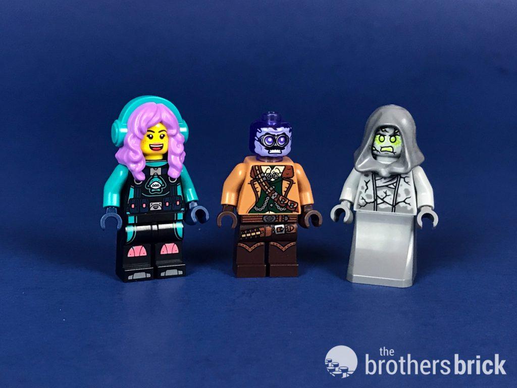 LEGO Hidden Side Vaughn Geist minifig