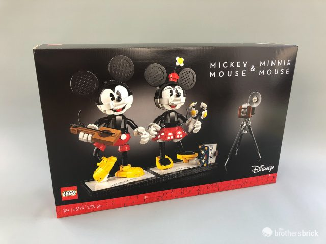 Hands-on with 43179 Mickey & Minnie Mouse Buildable Characters, the latest LEGO Disney set for adult collectors [Review] | The Brothers Brick