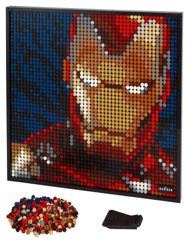 Lego The Beatles Ringo Starr 2 Gesichter