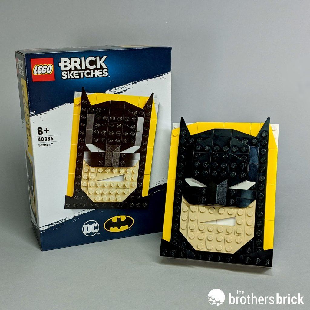 LEGO 40386 Batman Brick Sketches Sealed New in Hand