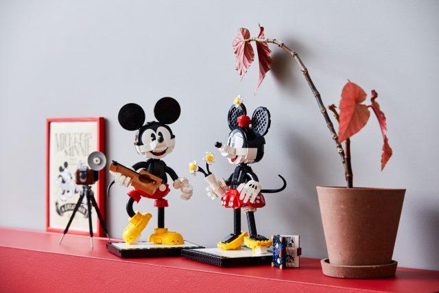 Mickey And Minnie Mouse Disney Mini Figure Steamboat Fits Lego Brand  Bricks