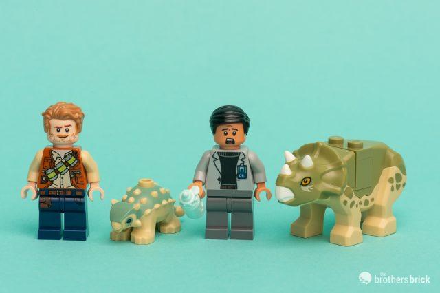 From Set 75939 Jurassic World Brand New Dinosaur Lego Baby Ankylosaurus