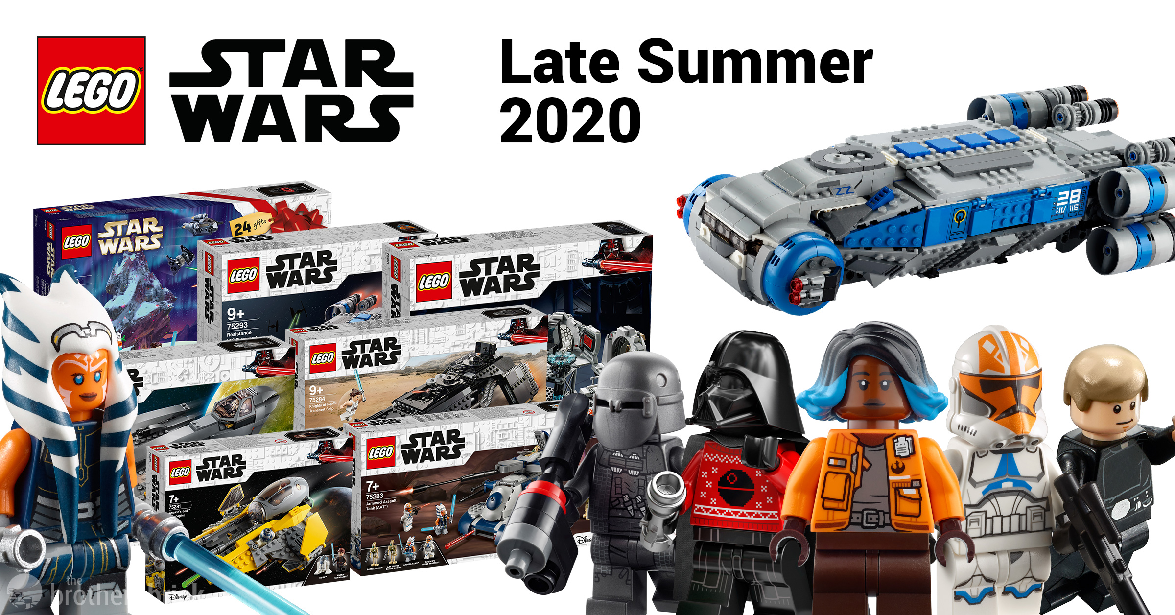 New Star Wars Lego Sets Christmas 2020 LEGO reveals 7 new Star Wars sets for late summer 2020 including