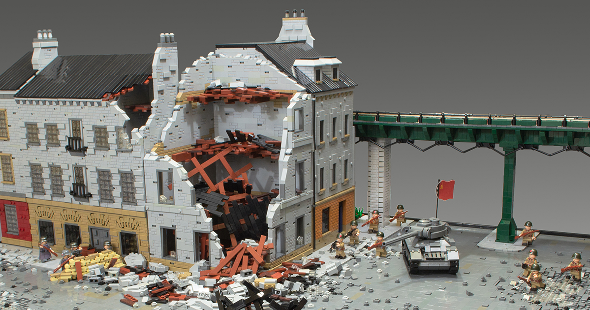 Berlin, 1945: the closing push | The Brothers Brick