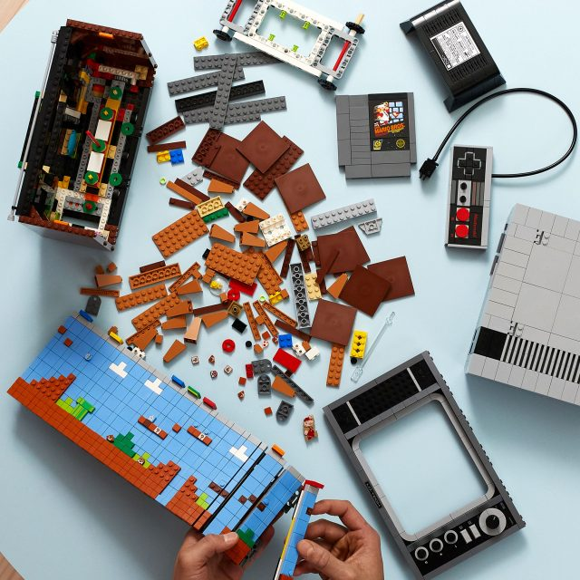 Lego 71374 Nintendo Entertainment System Is A Buildable Nes Console Complete With Super Mario Bros News The Brothers Brick The Brothers Brick
