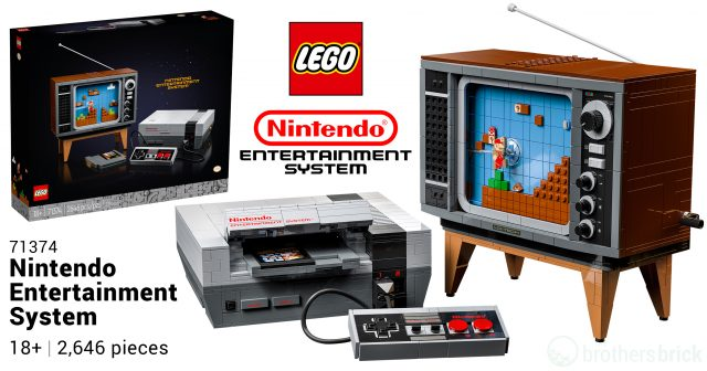 Lego 71374 Nintendo Entertainment System Is A Buildable Nes