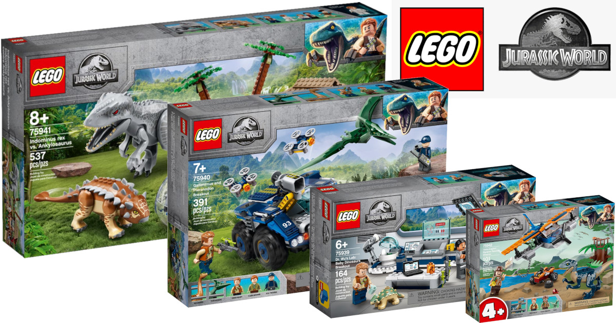 New LEGO Jurassic World sets for summer 2020 now available ...