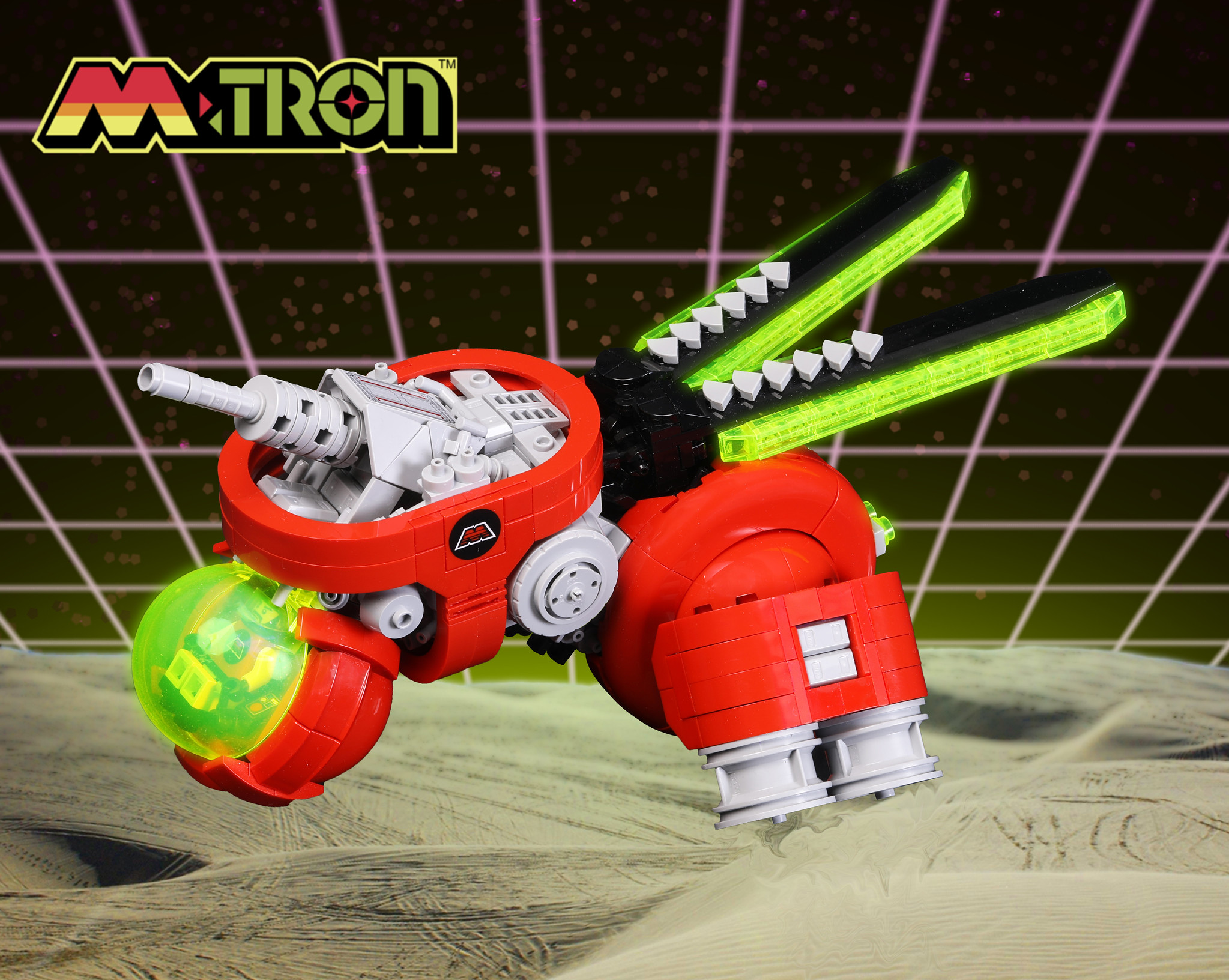 LEGO M Tron Heavy VTOL By Blake Foster On Flickr 1