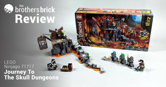 LEGO 71717 NINJAGO Journey to the Skull Dungeons Game SET BRAND NEW