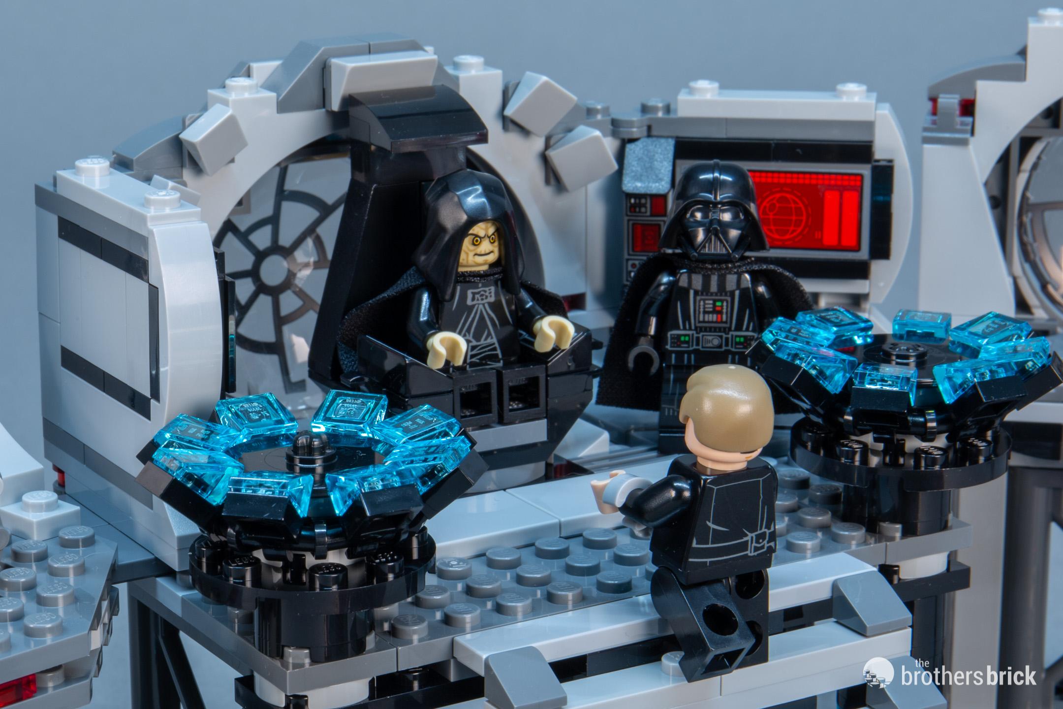 75291  2020 Brand New Lego Star Wars DEATH STAR FINAL DUEL !!