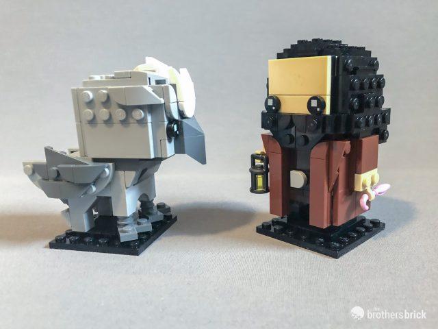 LEGO 40412 Hagrid /& Buckbeak BrickHeadz In Hand