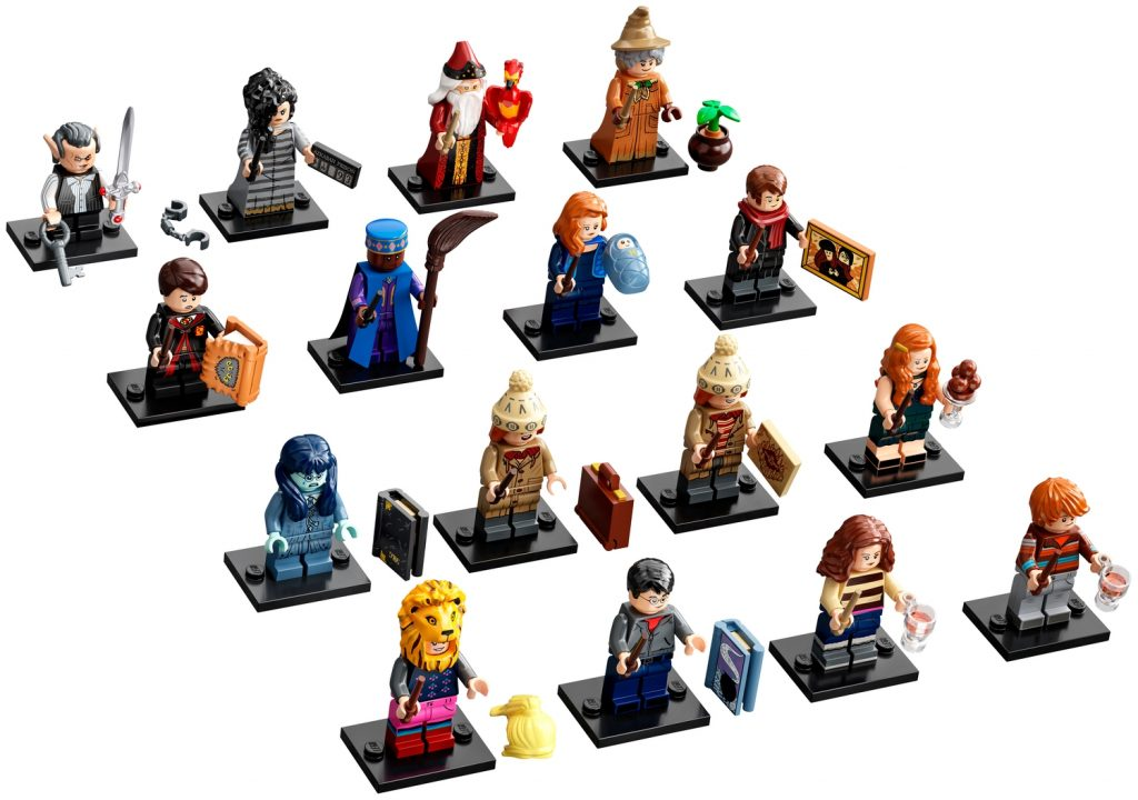 The New Lego 71028 Harry Potter Collectible Minifigures Series 2 Revealed News The Brothers Brick The Brothers Brick