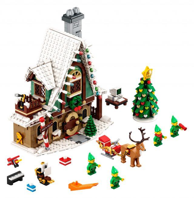Lego Christmas Village 2020 Next LEGO Winter Village set unveiled as 10275 Elf Club House
