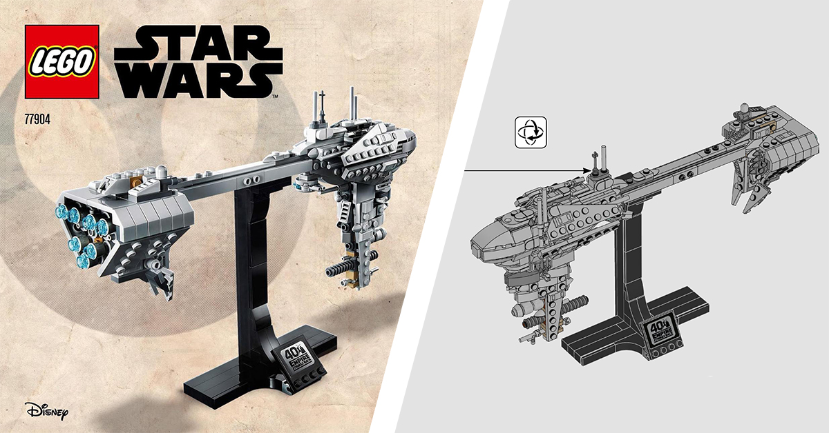 Star Wars SDCC exclusive 77904 Nebulon-B Frigate revealed along with instructions [News]   The Brothers Brick