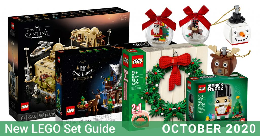 Lego Christmas Ornaments 2020 New LEGO sets available in October 2020 prepares you for early