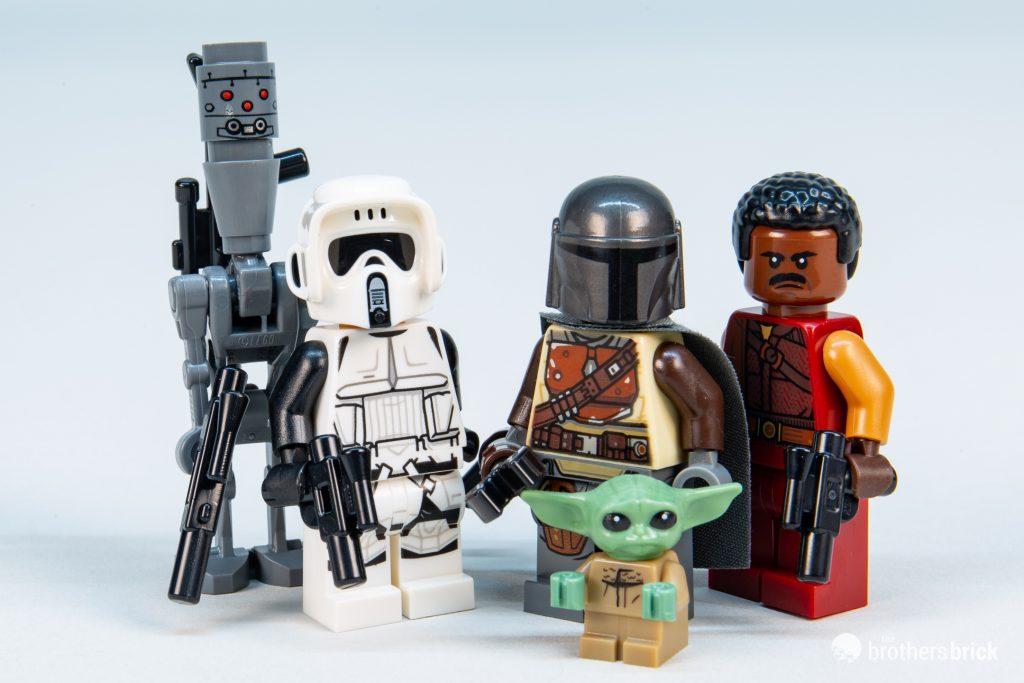 Lego Star Wars Scout Trooper Mandalorian Minifigure from 75292