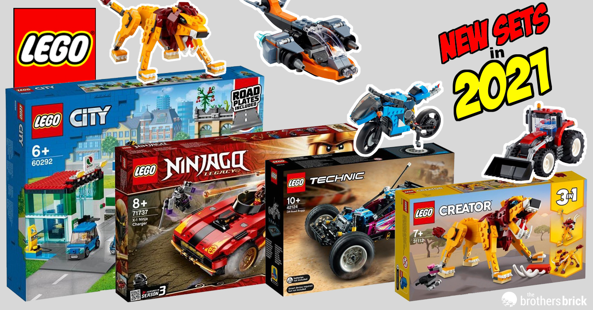 A First Look At 46 New Lego Sets Upcoming In 2021 Including City Ninjago And Creator Themes News The Brothers Brick The Brothers Brick