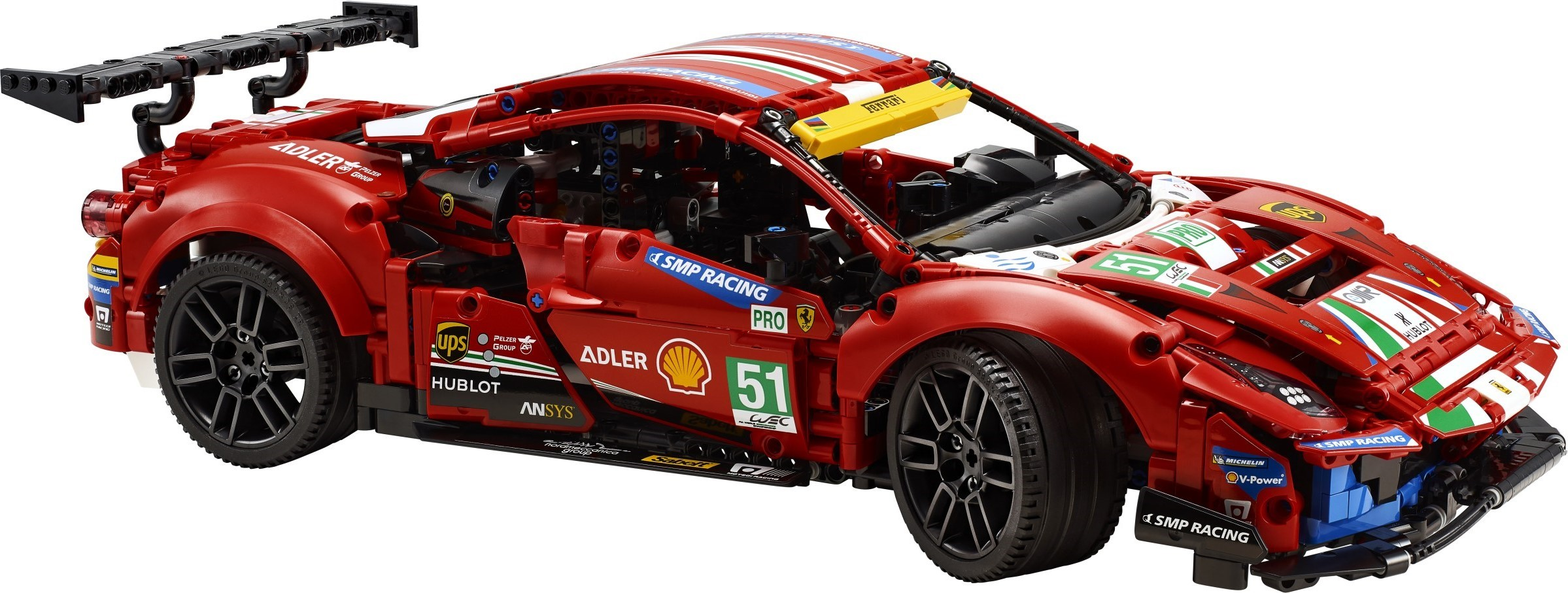 Lego Technic 42125 Ferrari 488 Gte Af Corse 51 Revealed News The Brothers Brick The Brothers Brick
