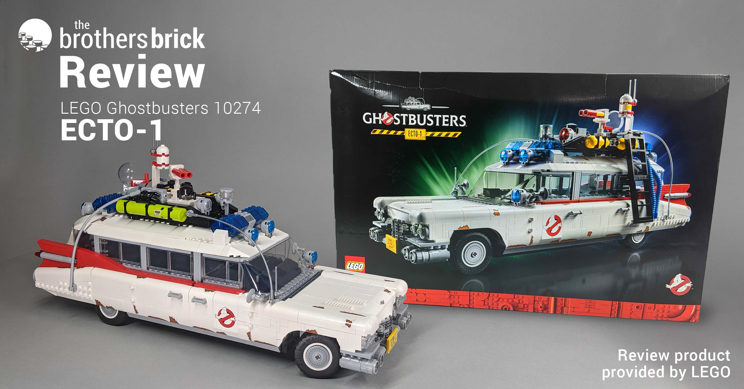 LEGO Ghostbusters 10274 ECTO-1: Everybody can relax, I found the car. [Review]   The Brothers Brick