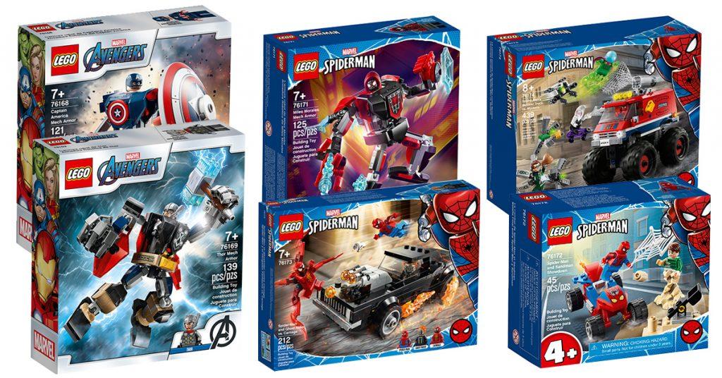 New Minifigure Lego MOC Spiderman Hydra Character DC Comics Universe Marvel Thor