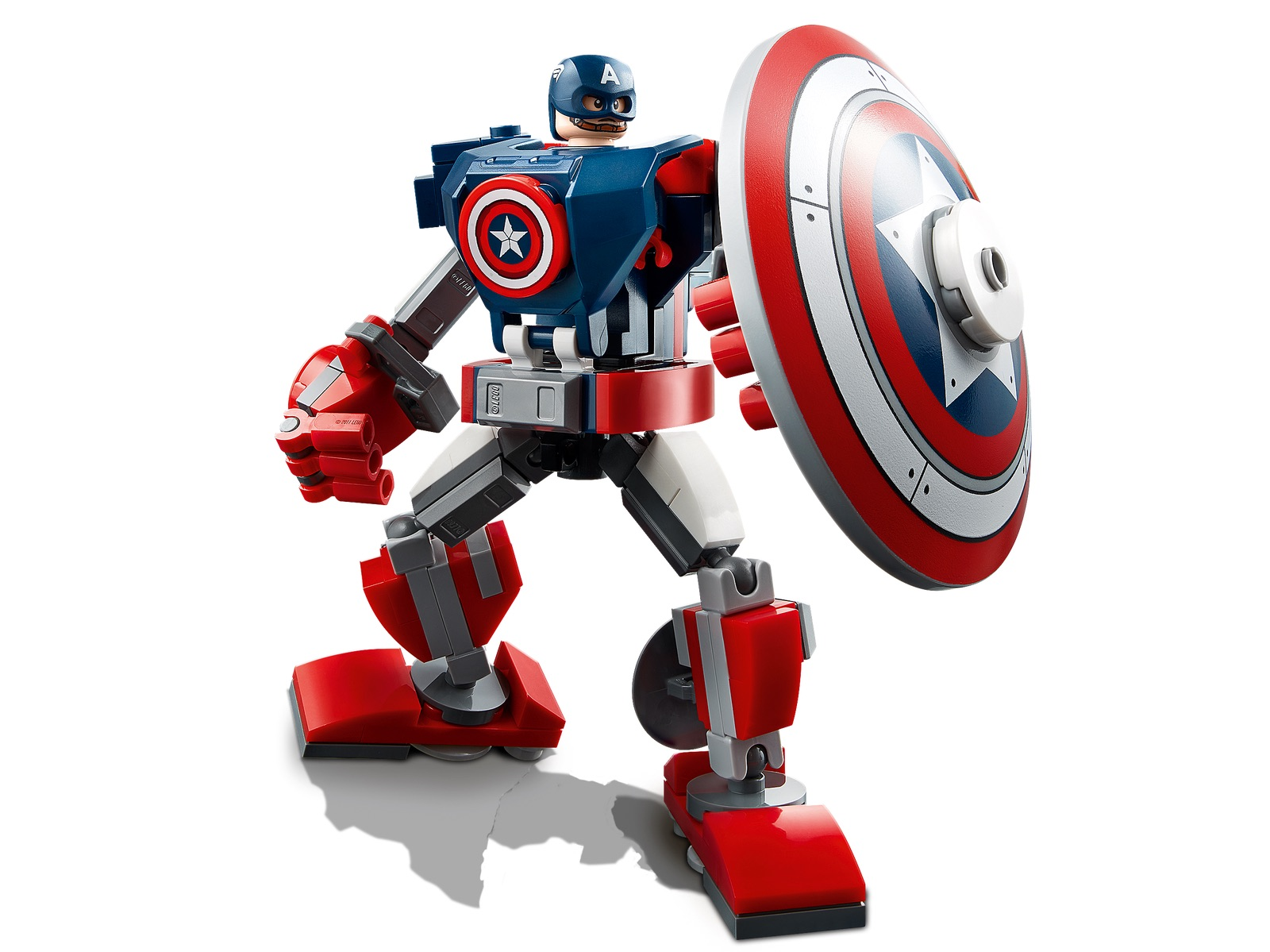 LEGO Marvel Avengers Captain America Mech Armor 76168_alt2 ...
