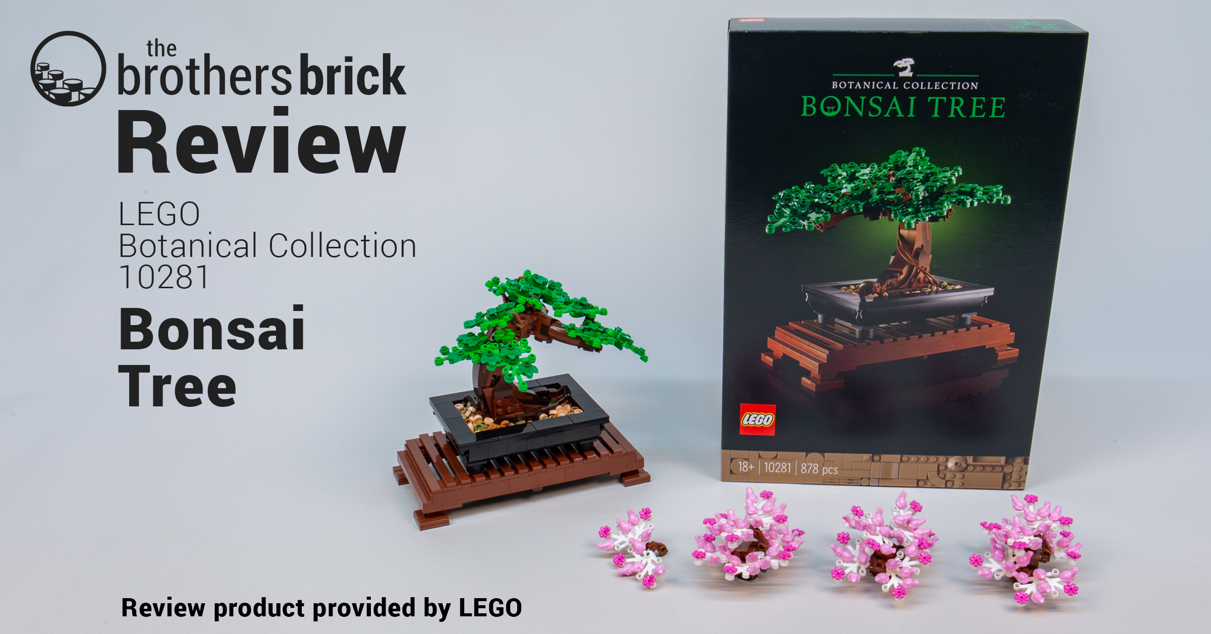Lego 10281 Bonsai Tree From The Botanical Collection Review The Brothers Brick The Brothers Brick
