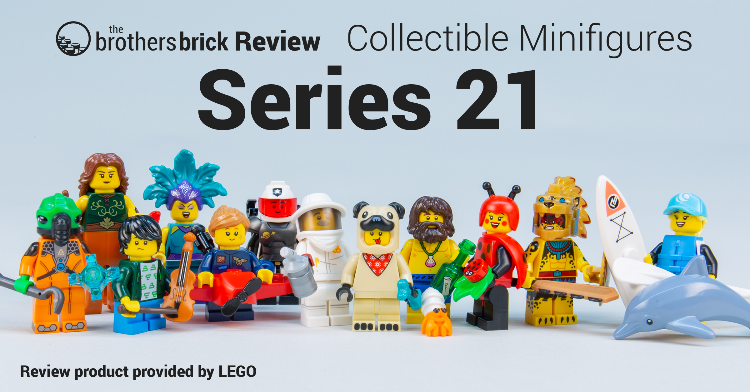 LEGO Collectible Minifigures 71029 Series 21 [Review] | The Brothers Brick